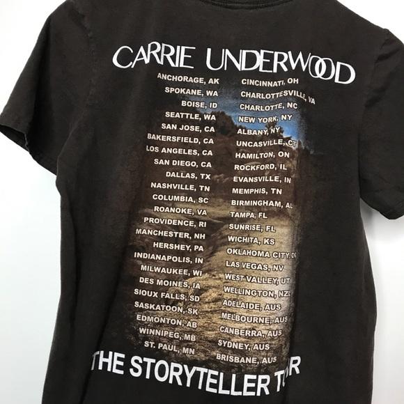 🐬 Carrie Underwood The Storyteller Tour T-Shirt S